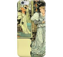 The Sleeping Beauty Picture Book Plate - Bluebeard - I'll Say Good-bye, My Dear iPhone Case/Skin