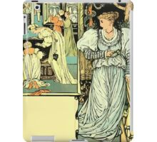 The Sleeping Beauty Picture Book Plate - Bluebeard - I'll Say Good-bye, My Dear iPad Case/Skin