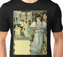 The Sleeping Beauty Picture Book Plate - Bluebeard - I'll Say Good-bye, My Dear Unisex T-Shirt