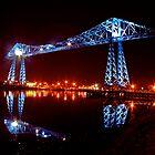 Transporter Bridge by Richard Leeson