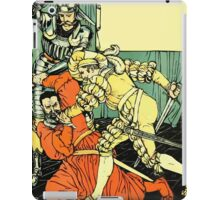 The Sleeping Beauty Picture Book Plate - Bluebeard - The Cut The Murderer Down iPad Case/Skin