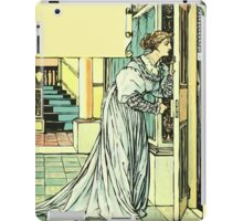 The Sleeping Beauty Picture Book Plate - Bluebeard - And This You Must Not Open, Or You Will Repent It Sore iPad Case/Skin