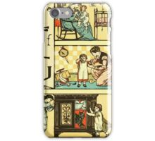 The Sleeping Beauty Picture Book Plate - The Baby's Own Alphabet - Ee, Ff, Gg iPhone Case/Skin