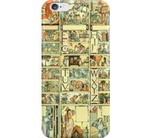 The Sleeping Beauty Picture Book Plate - All Portrait Plates iPhone Case/Skin