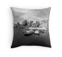 My Beautiful City... Throw Pillow