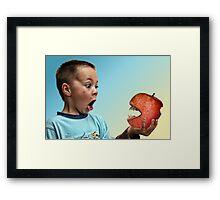 An Apple A Day...... Framed Print