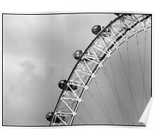 View Of The London Eye 1 Poster