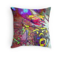 Blinded By The Colours Throw Pillow
