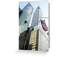 Chrysler Building New York Greeting Card