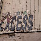 Material Excess by Darren Freak