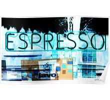 Espresso Coffee. Poster