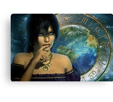 gypsy teller Canvas Print