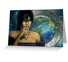 gypsy teller Greeting Card