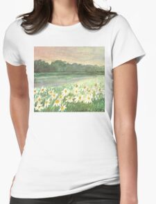 SUNSET OVER DAISY-MEADOW - A Dream of Peace may fill your Heart T-Shirt
