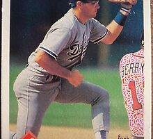 387 - Rafael Bournigal by Foob's Baseball Cards