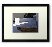 Mies Van Der Rohe Pavillion Framed Print