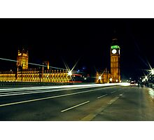 Big Ben Rush Photographic Print