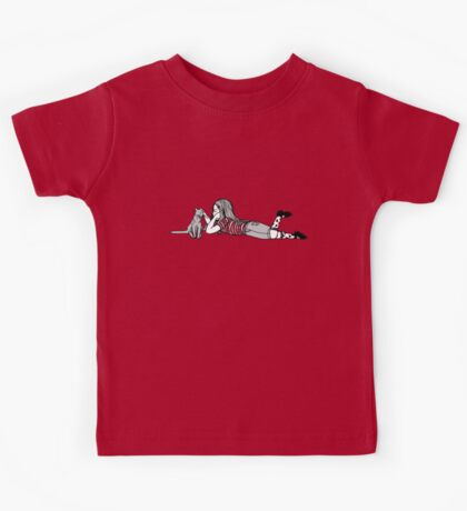 just a lazy afternoon Kids Tee