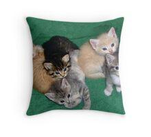 One Happy Family Throw Pillow