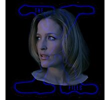 X-Files Scully now Photographic Print