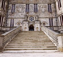 Grand Entrance to Lulworth Castle by trish725