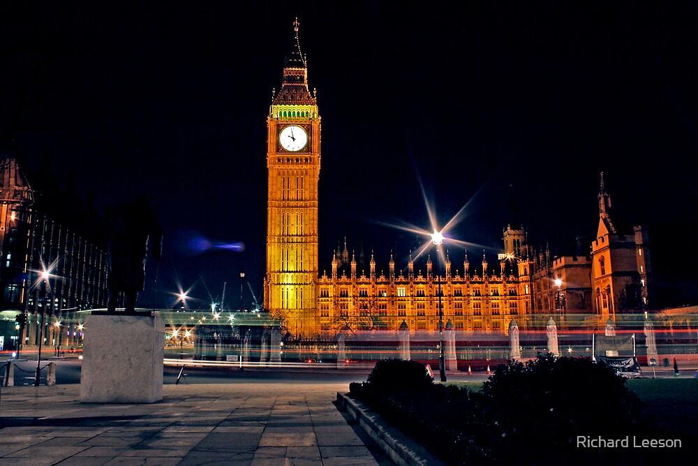 Churchills Parliament by Richard Leeson
