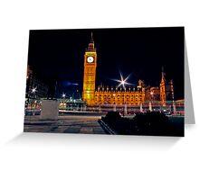 Churchills Parliament Greeting Card
