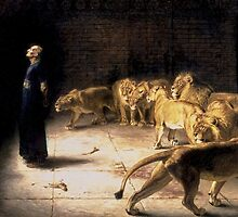 Briton Riviere - Daniels Answer To The King Painting by verypeculiar