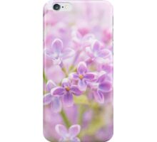 Lilac Flowers Mist iPhone Case/Skin