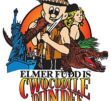 Elmer Fudd is Cwocodile Dundee Colour by monsterplanet