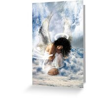 It sometimes rains in heaven... (love hurts) Greeting Card