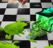 The Grass Spill Tee Sticker