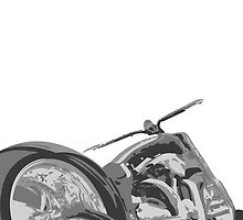 Low Rider Chopper #2 by 862design