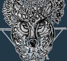 The Wolf Tree patterns (dark blue) Sticker