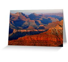 Mather Point Sunset, Grand Canyon Greeting Card