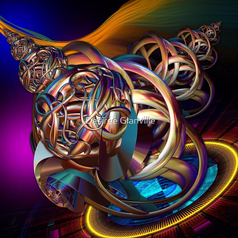 Spinning Wheel - Blood, Sweat & Tears by Desirée Glanville