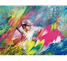 Golfing In Augusta Photographic Print