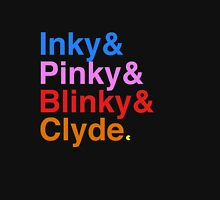 Inky Pinky Blinky Clyde Unisex T-Shirt