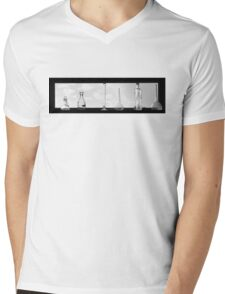 6 glass bottles  Mens V-Neck T-Shirt