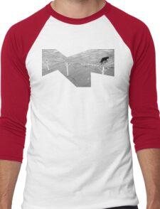 escaping cat Men's Baseball ¾ T-Shirt
