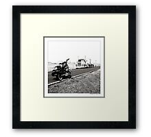 """Number of the Wheels"" Framed Print"