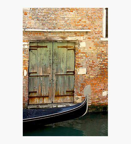 Gondola, Venice Photographic Print
