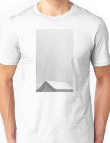 Eaves in the snow Unisex T-Shirt