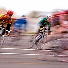 Cyclists in Motion - Racing through the Year by Buckwhite