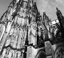 The 13th Century Cologne Cathedral Germany by Ian Mooney