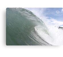 sick waves Canvas Print
