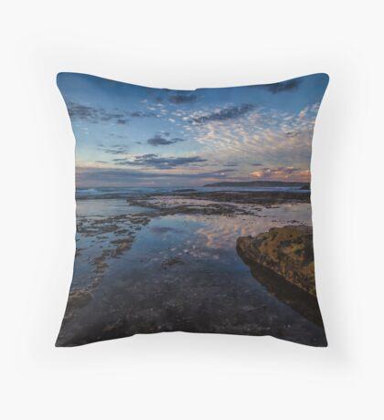 Maroubra Reflections Throw Pillow