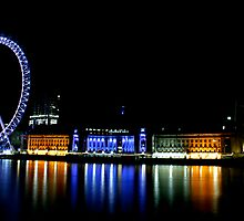 London Eye Landscape by Richard Leeson