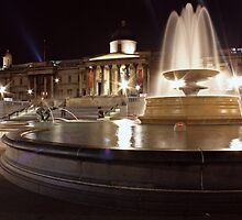 Trafalger Square by Richard Leeson