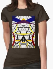 geometric architecture Womens Fitted T-Shirt